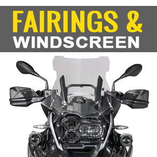 FAIRINGS & WINDSHIELD