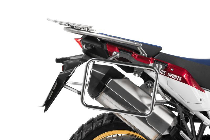 Stainless steel pannier rack for Honda Africa Twin