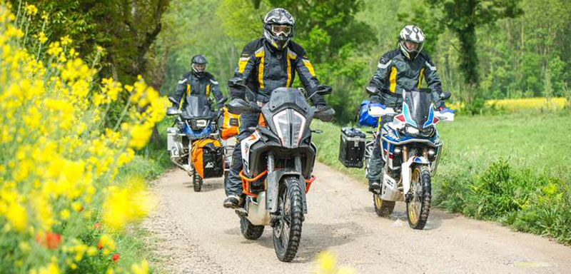 Touratech sampling latest adventure bikes and accessories