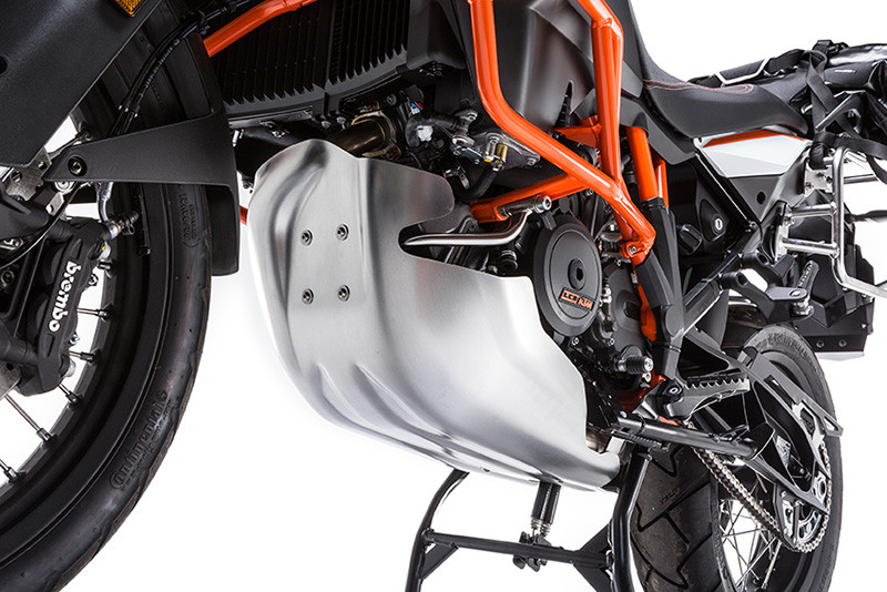 Cover up with Touratech's KTM engine protector